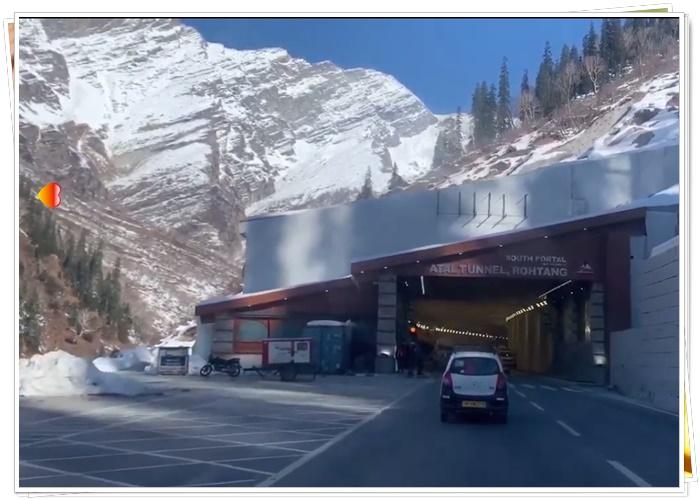 Atal Tunnel Manali