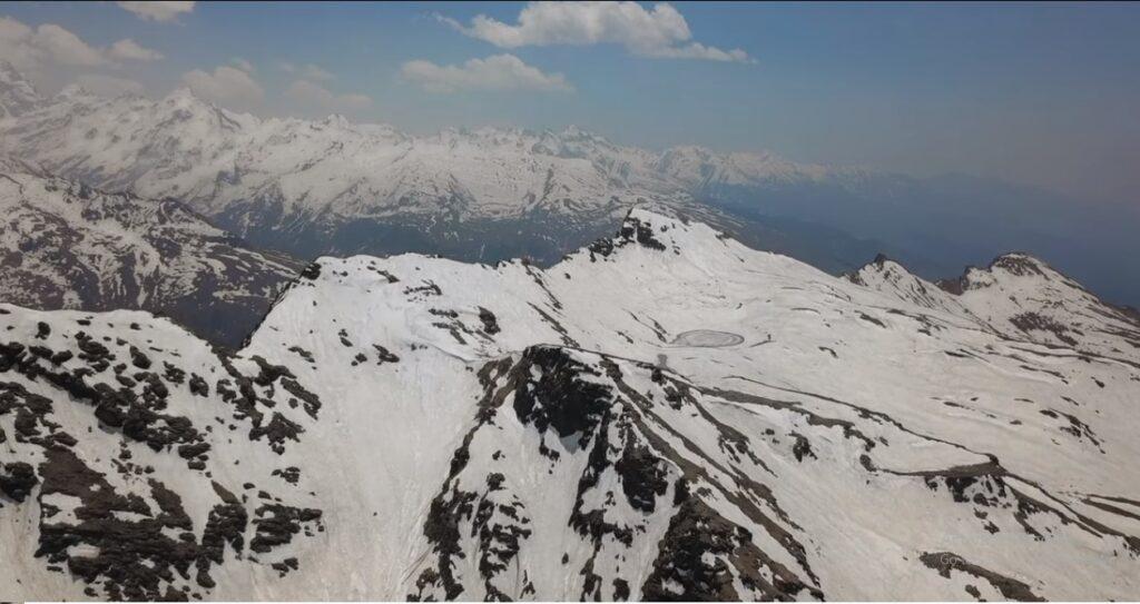 brighu lake from above